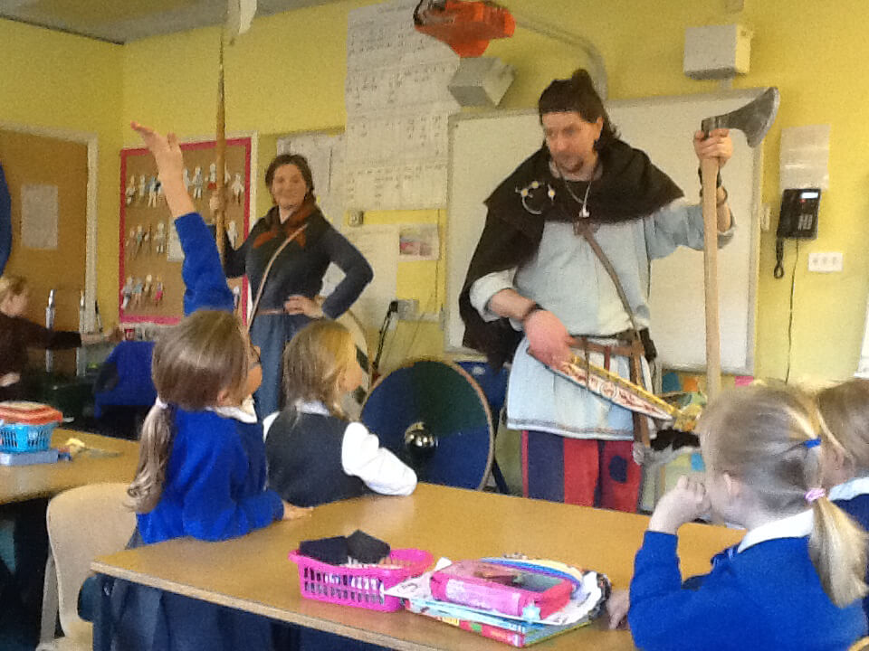 St Mary's School - Vikings Project